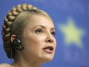 Тимошенко о закачке газа: Украина рассчитывает на кредиты европейских банков
