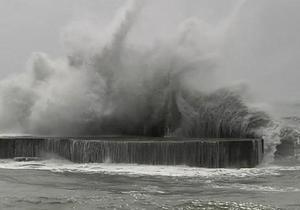 Тайфун Трами достиг берегов Тайваня