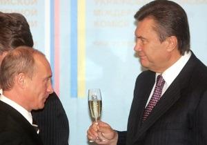 Янукович связывает победу Путина на выборах в РФ со стабильностью в Восточной Европе