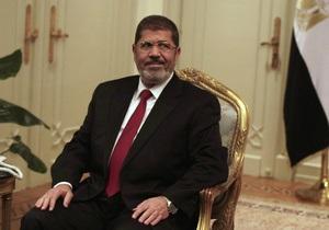 Мурси уволил министра обороны, а также отменил Конституционную декларацию Египта