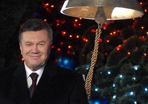 Фотогалерея: Мы начинаем Новый год. Янукович зажег главную елку Украины