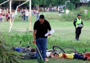 В Гондурасе на футбольном матче застрелили 14 человек