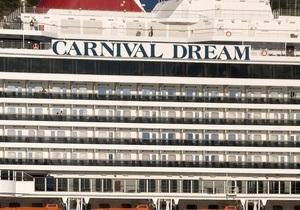 Еще один лайнер компании Carnival потерпел аварию. Тысячи пассажиров не могут сойти на берег