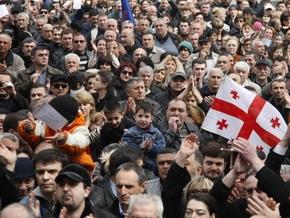 Грузинская оппозиция расширяет масштабы акции протеста