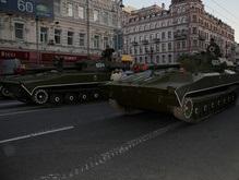 Завтра в Киеве из-за танков ограничат движение транспорта