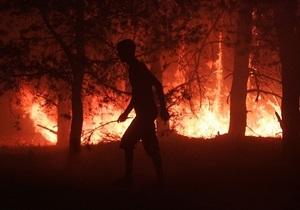 За сутки в Украине сгорели 12 га леса