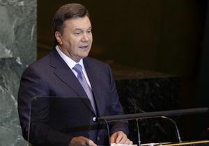 Украинская диаспора готовит акцию протеста по случаю приезда Януковича в Нью-Йорк