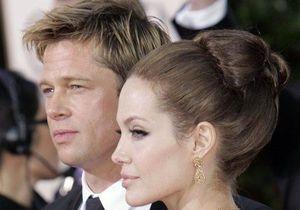 СМИ: Питт и Джоли подписали брачный контракт