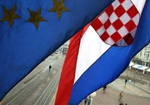 Европарламент одобрил вступление Хорватии в ЕС