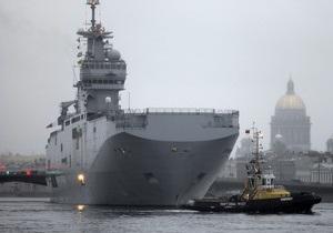 Саркози пообещал построить два вертолетоносца Mistral для России