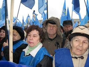 Эксперты: Акции протеста Партии регионов - это деньги на ветер