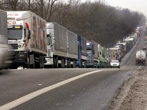 На западных границах Украины ожидается увеличение очередей грузовиков