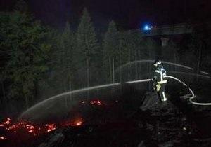 Жара спровоцировала возникновение лесных пожаров в Калифорнии