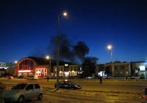 В Днепропетровске горел центральный рынок