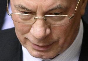 Азаров о новой цене на газ: Химпром остановится, а металлурги будут работать себе в убыток