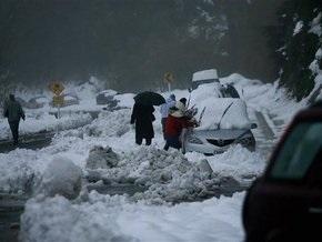 На Новую Зеландию обрушились сильные снегопады