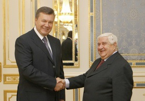 МИД Украины отрицает информацию о намерении продавать Сирии оружие