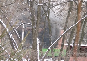 Пожар на Крюковском вагонзаводе локализовали