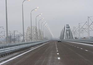Движение транспорта по Дарницкому мосту с левого на правый берег будет ограничено из-за плановых работ