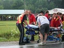 В канадской провинции  попал в аварию автобус с английскими туристами