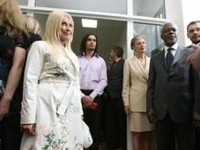 Фотогалерея: Коффи Аннан и звезды украинского шоу-бизнеса