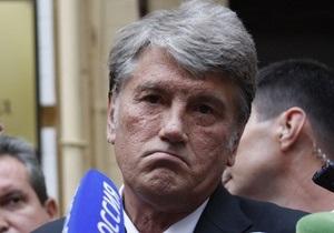 Ющенко: Наша Украина получит более 10% национальной поддержки