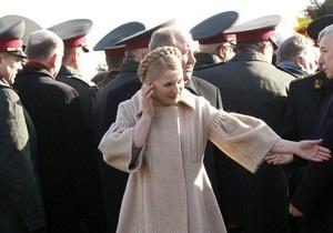 МВД грозит Тимошенко уголовной ответственностью