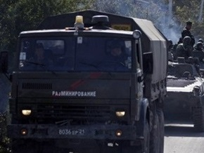 В Чечне подорвали две колонны с военнослужащими