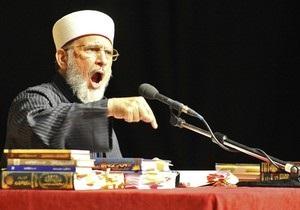 Влиятельный исламский проповедник издает фетву против террористов-смертников