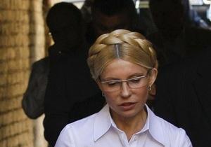 Правоохранители опровергают сообщения об угрозах жизни Тимошенко