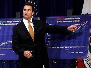 Самому богатому штату США грозит банкротство