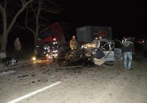 СМИ: Автомобилем, в котором погибли семь человек, управлял нетрезвый депутат Николаевского райсовета