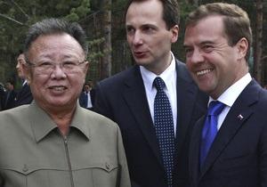 Кремль: Ким Чен Ир согласился обсуждать ядерную программу КНДР