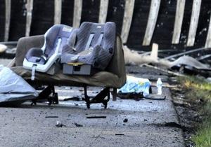 В Запорожской области произошло ДТП, пять человек погибли