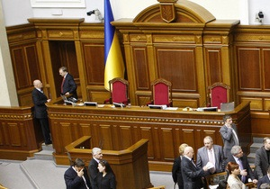 Коалиция готовит кадровые перестановки в руководстве парламента
