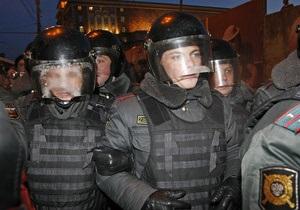Полиция задержала трех участников флешмоба на площади Революции в Москве