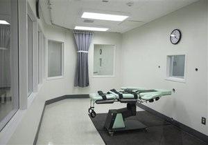 В США сняли на видео смертную казнь