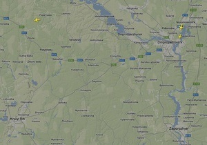 Аэропорт в Кривом Роге не смог принять самолет Януковича