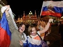 Самолет со сборной России приземлился в аэропорту Домодедово
