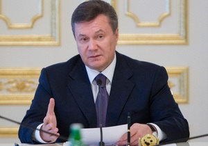 Янукович одобрил изменения к закону о местных выборах