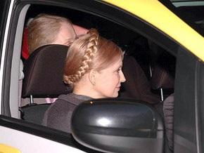 УП: Кортеж Тимошенко попал в ДТП