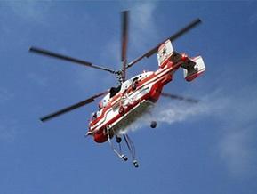 В Чили разбился пожарный вертолет: 14 человек погибли