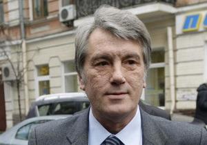 Ющенко прибыл в Печерский суд