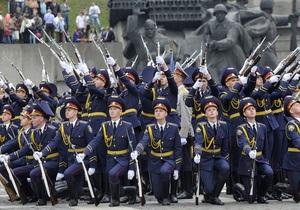 День победы - день побуды в Киеве: В Киеве начались торжества по случаю празднования Дня Победы