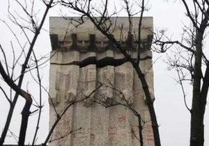 В Кракове осквернили памятник жителям еврейского гетто