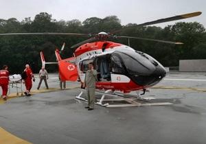 В Киеве открыли вертолетную площадку. Каждый желающий сможет купить билет на вертолет