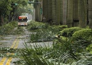 В Тайване жертвами тайфуна Соулик стали три человека