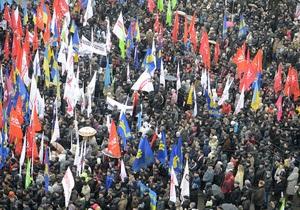В завтрашних акциях в центре Киева ожидается участие почти 30-ти тысяч человек