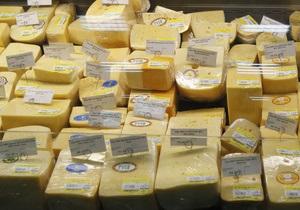 Украина увеличила импорт сыра более чем в два раза