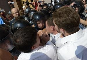 ВВС Україна: Киевсовет закрылся под давлением оппозиции